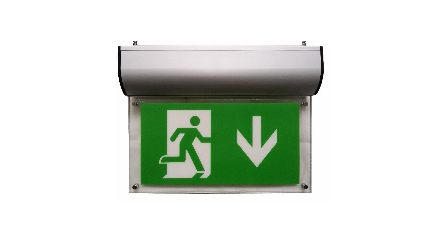Logo Emergency Exit Sign