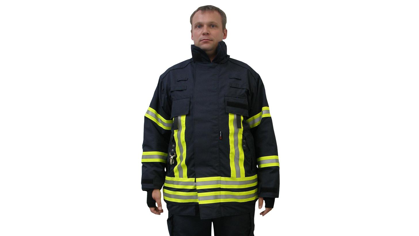Logo Fire Fighting Suit according to EN 469