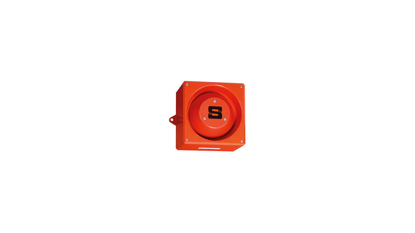 Logo Industrial Audible Signal 120 dB (A)