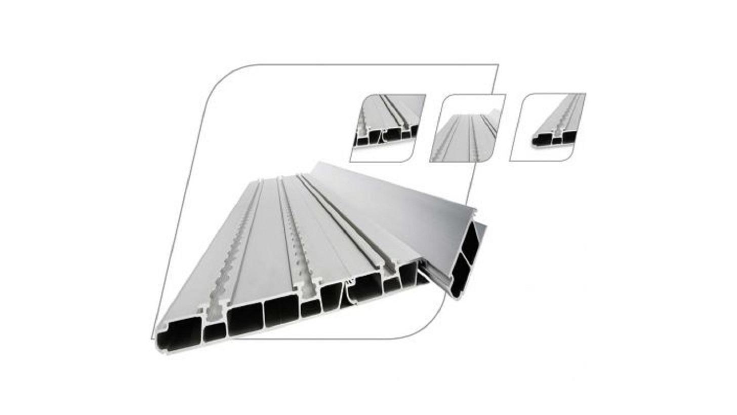 Logo Aluminium system floor M1 and M2