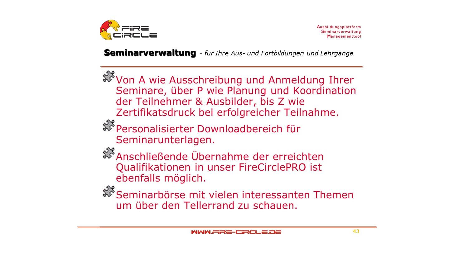Logo Seminarverwaltung