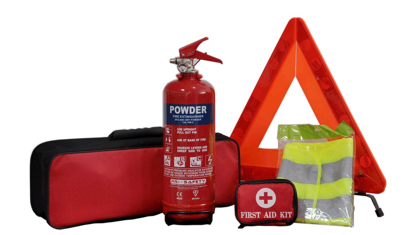Logo Fire Emergency Kit for Car