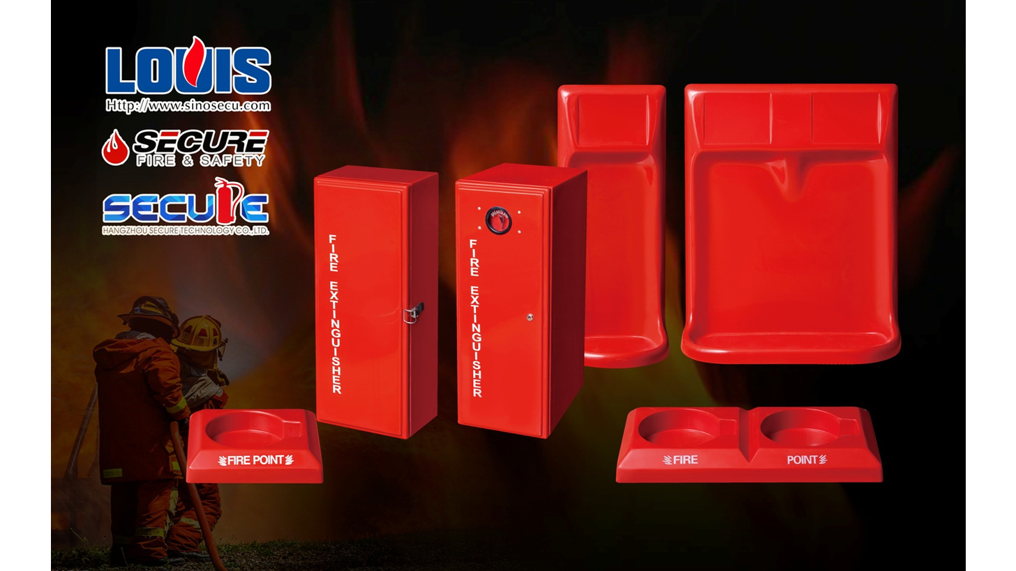 Logo FRP Cabinet&Stand for Fire Extinguisher
