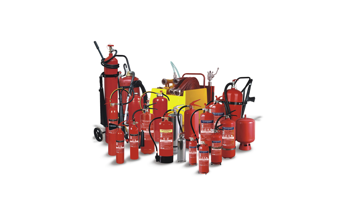 Logo Full Range of Fire Extinguisher