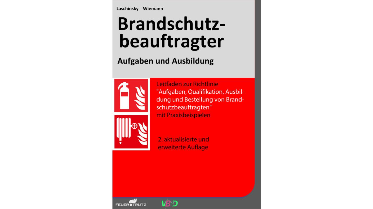 """Logo Fachbuch """"Brandschutzbeauftragter"""""""