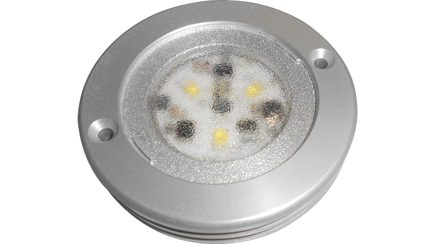 Logo Ultra flat LED roof lamp