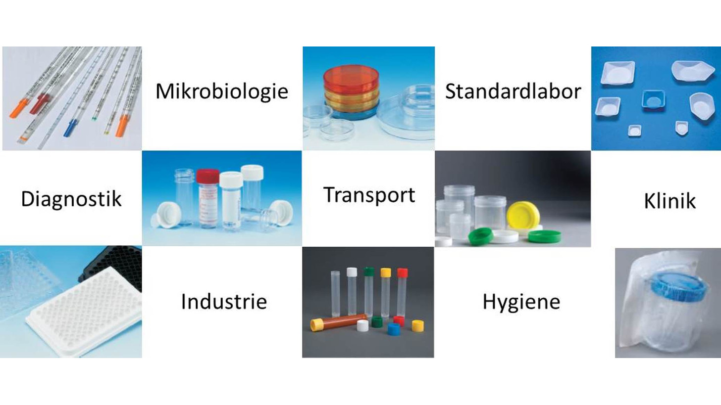 Logo Plastic- and glass consumables