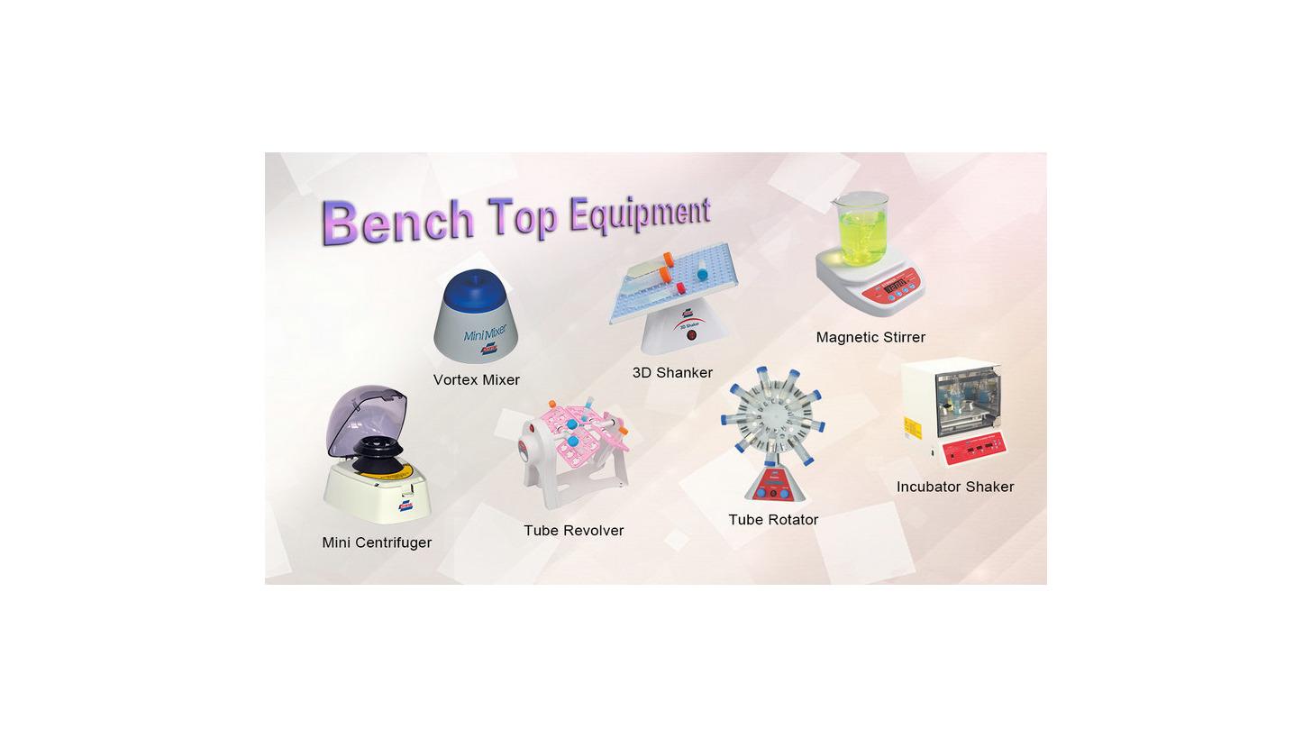 Logo Bench Top Equipment