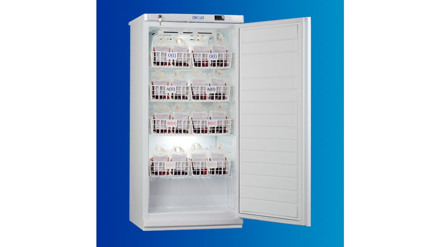 Logo Blood bank refrigerators, +2°C...+6°C