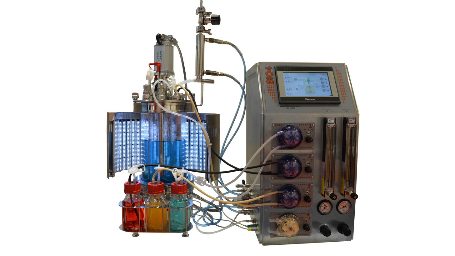 Logo Laboratory photo-bioreactor