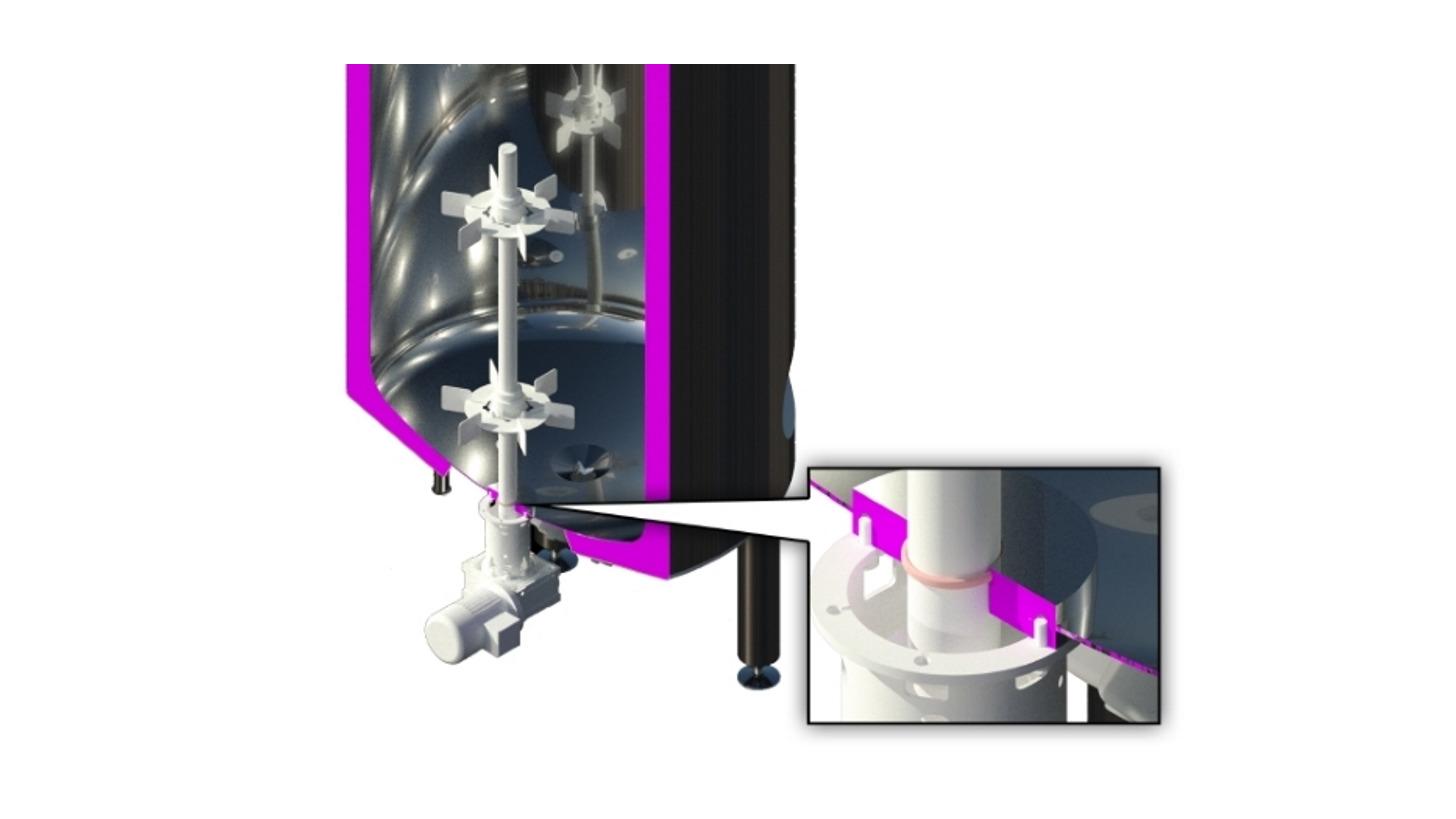 Logo Novel magnetic coupled mixing drive