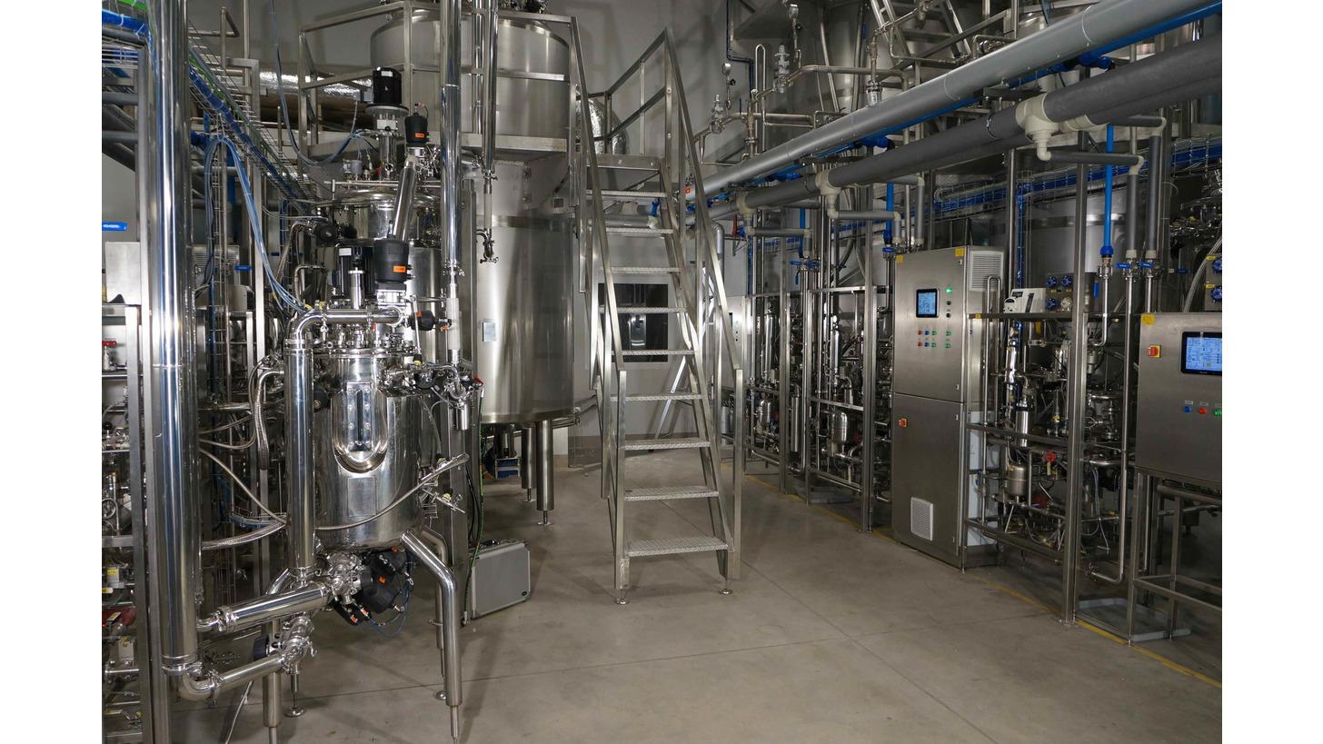 Logo Pilot scale bioreactors