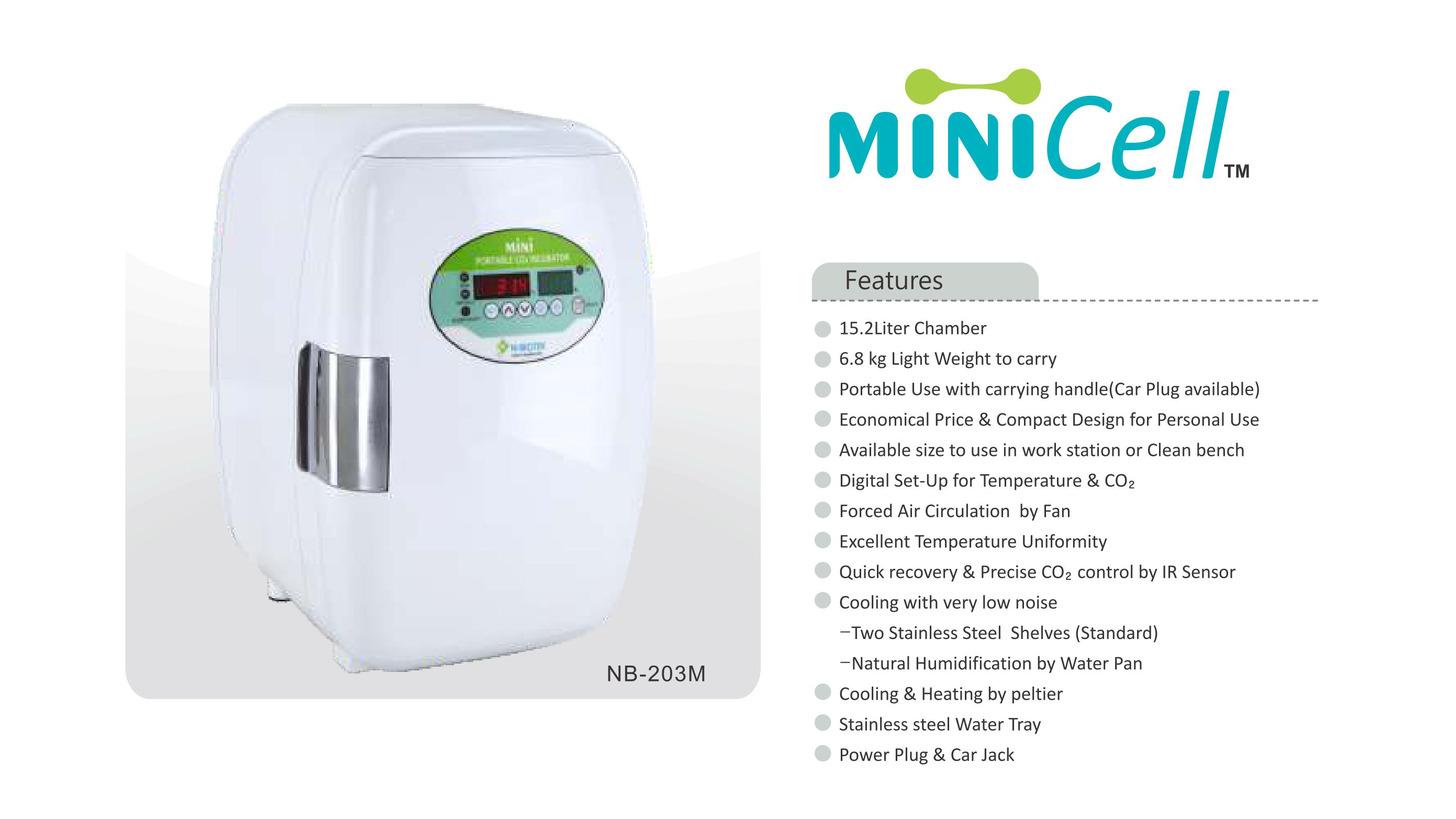 Logo PORTABLE MINI CO2 INCUBATOR