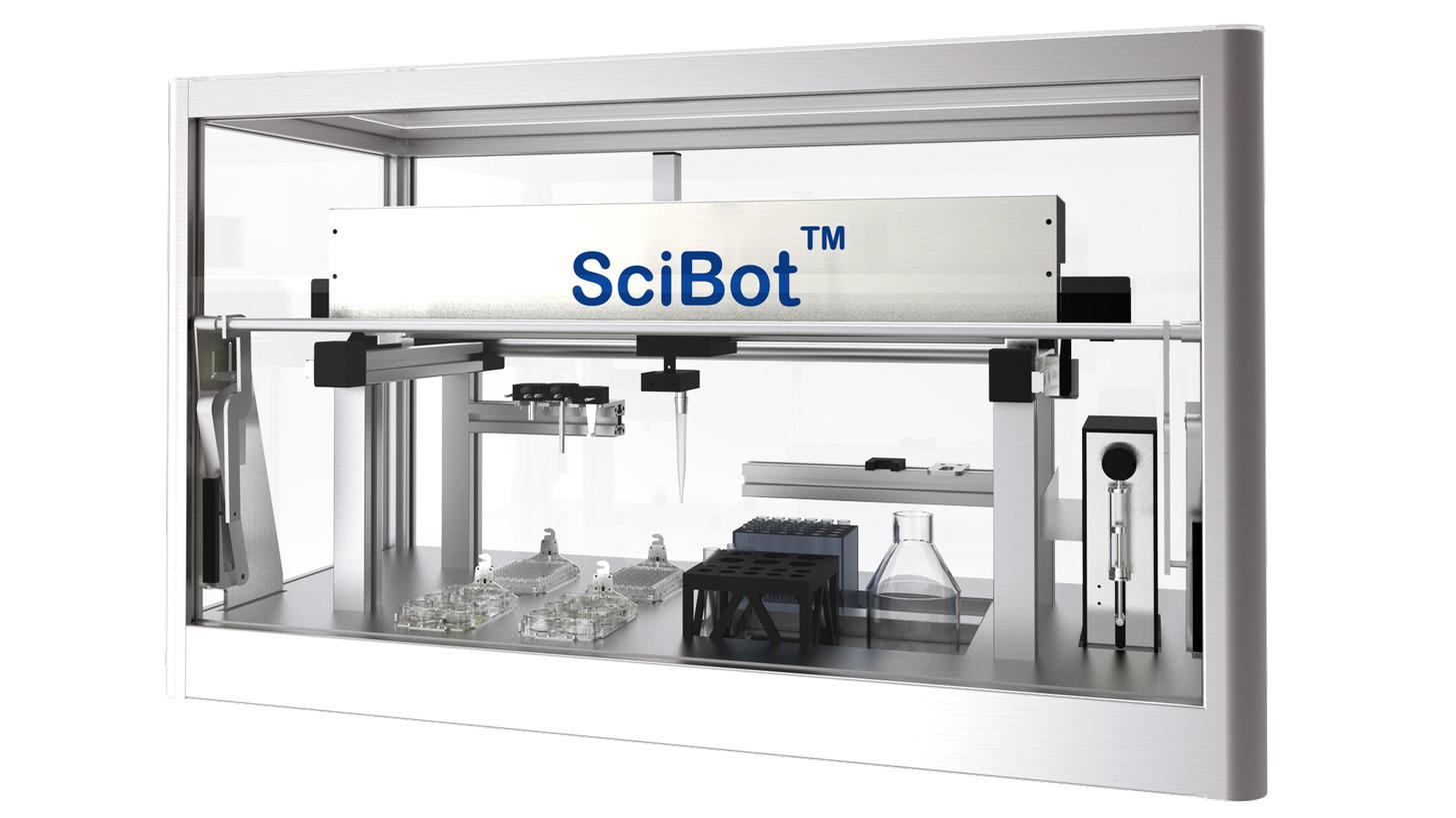Logo SciBot - Multi-Function Laboratory Robot