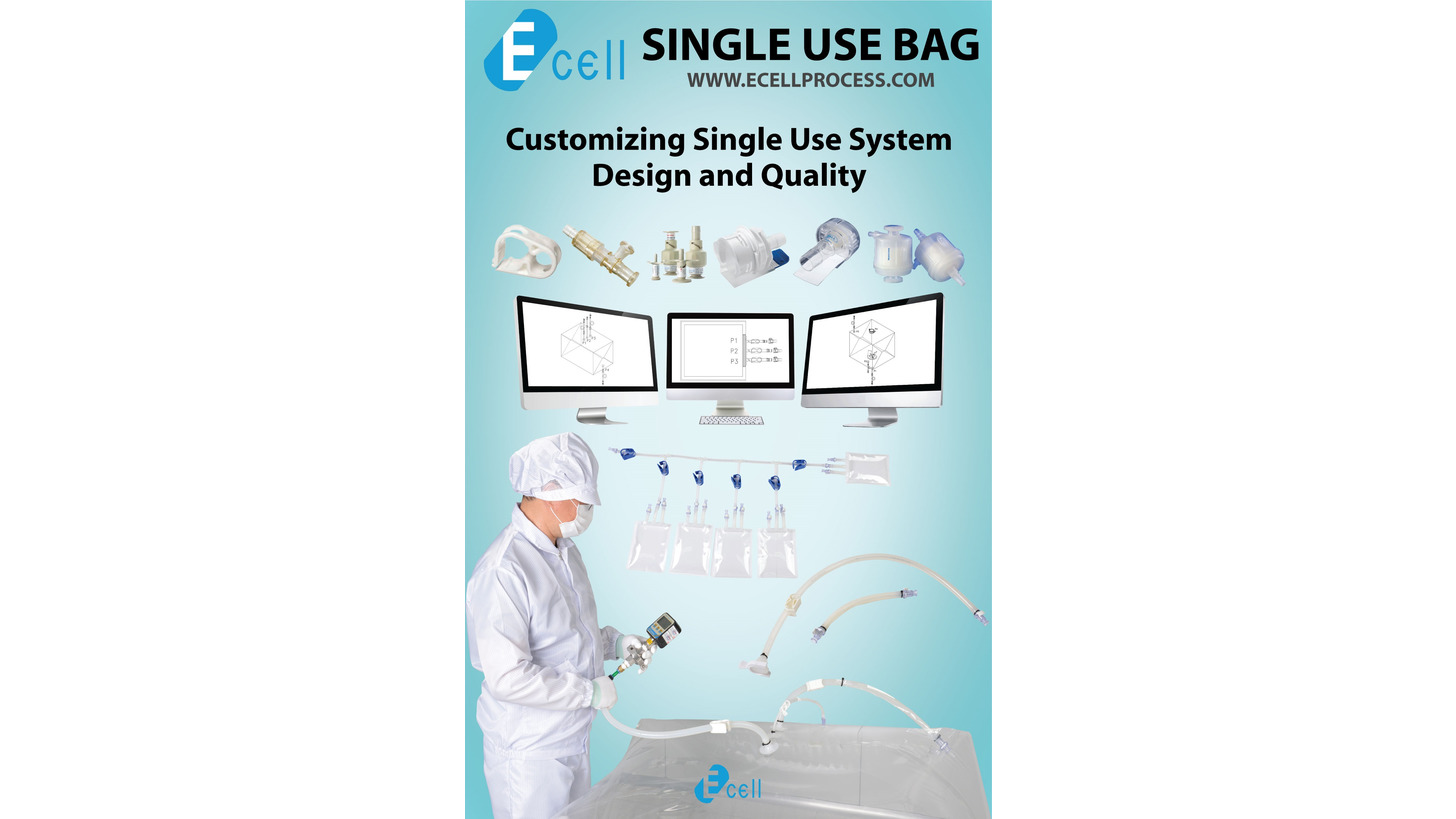Logo The best solution for Single Use product