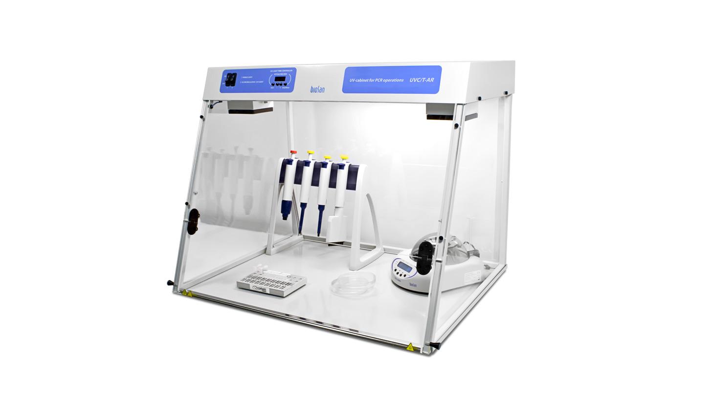 Logo DNA/RNA UV-cleaner box, UVC/T-AR