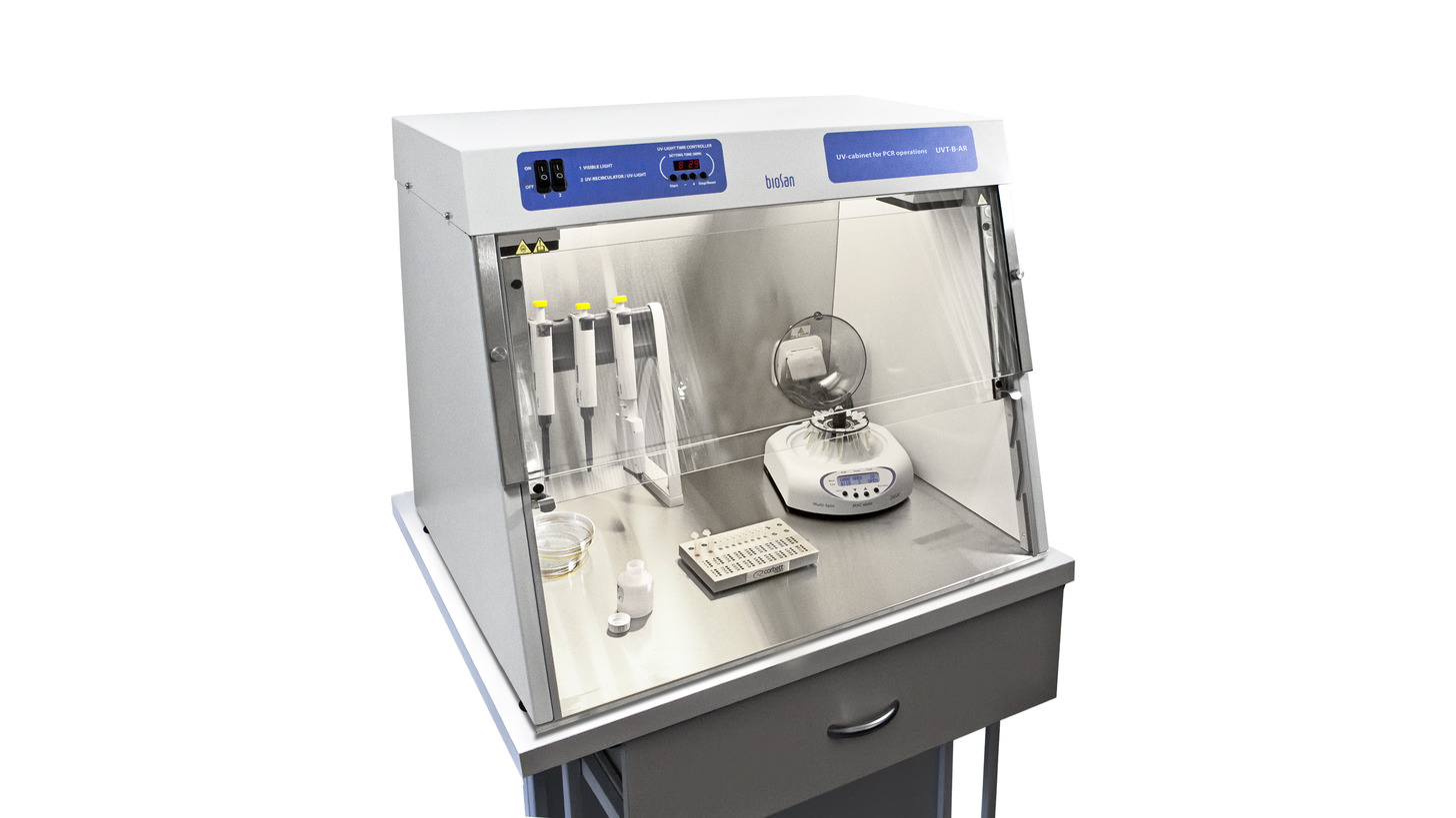 Logo DNA/RNA UV-cleaner box, UVT-B-AR