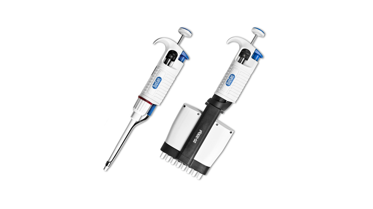 Logo Assist pipette series