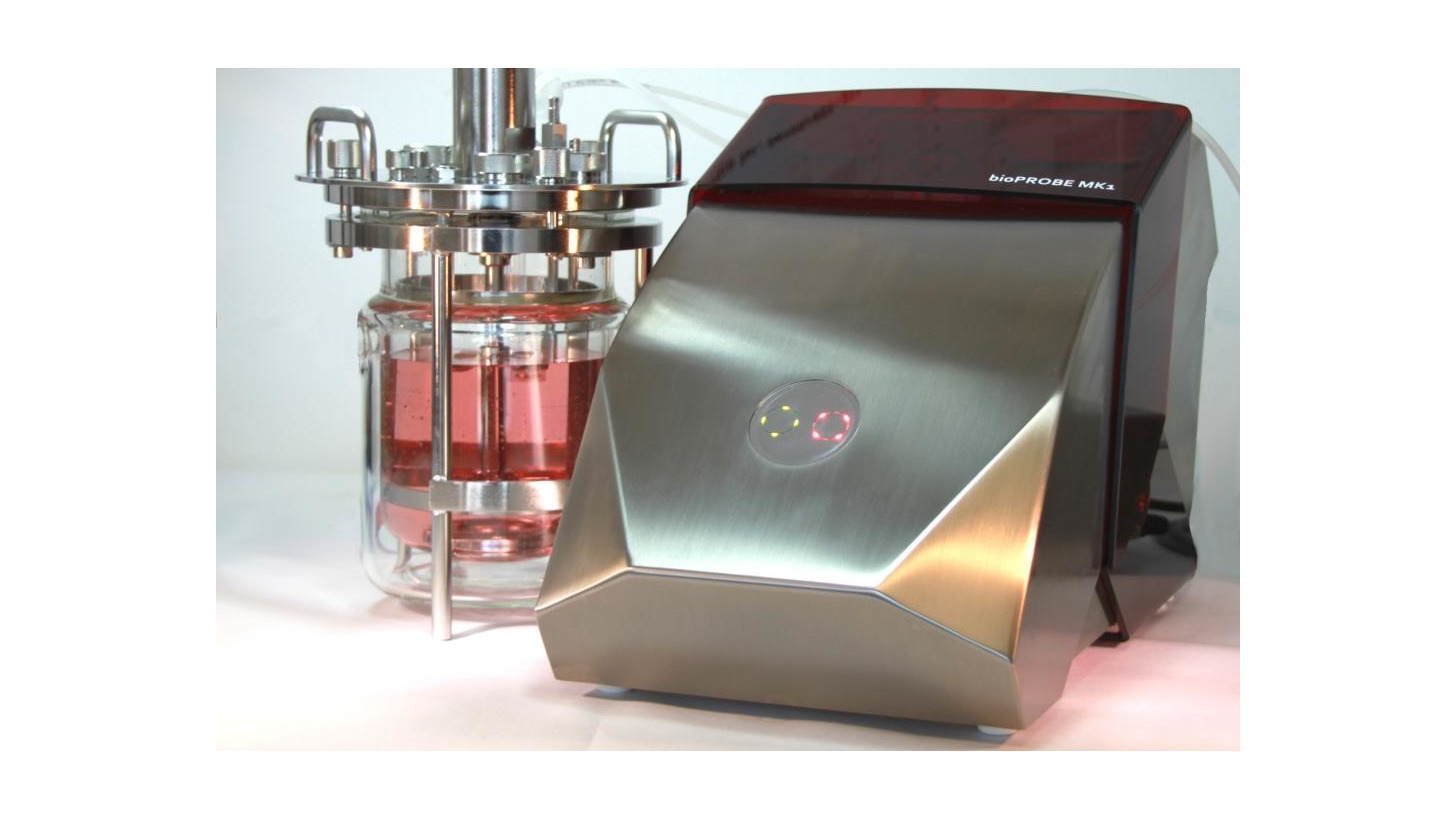 Logo bioProbe, time independent and sterile sampling from Bioreactors
