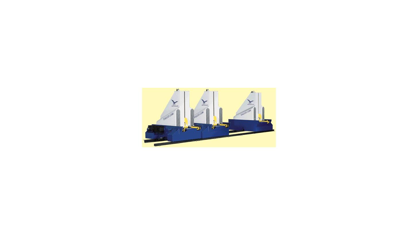 Logo Modular Log Carriage - Model FALCO 110