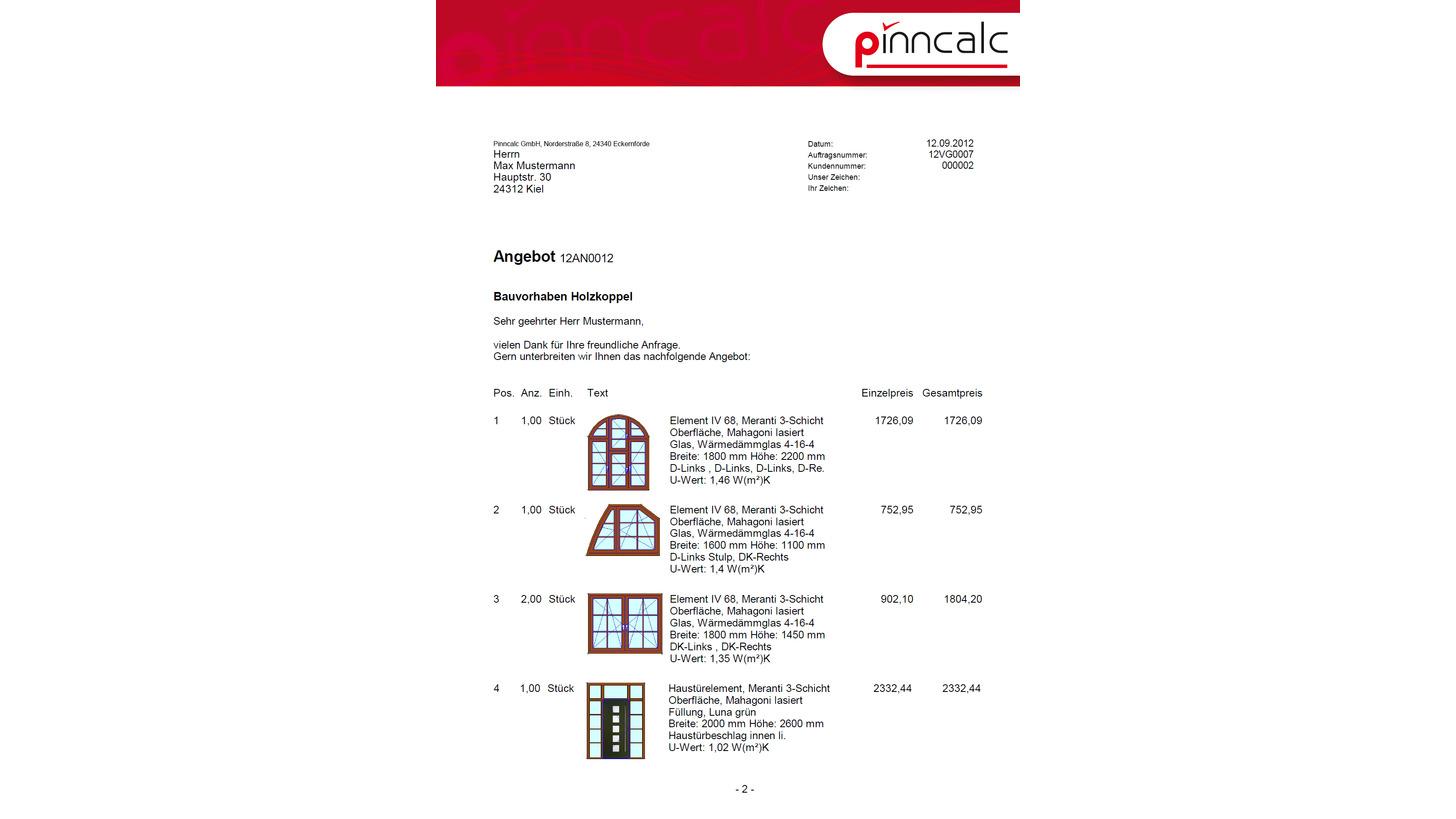 Logo Software für Fenster-&Türenbau /-handel