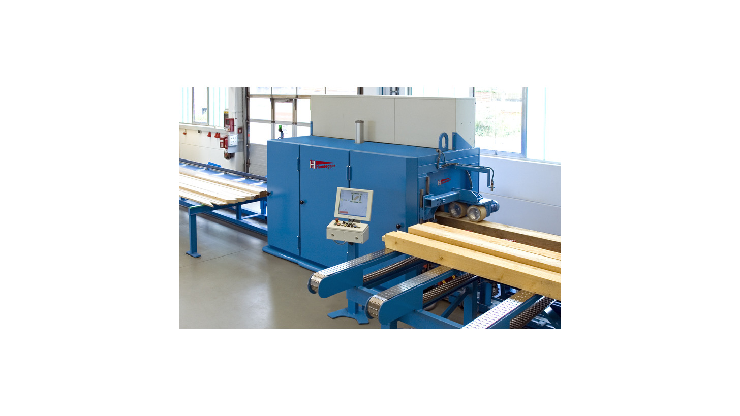 Logo 4-sided construction timber planing and chamfering machine