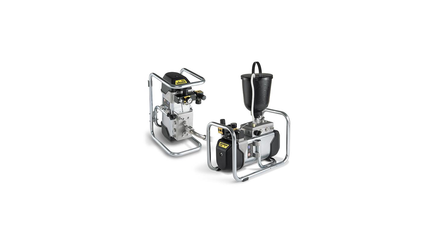 Logo WAGNER Cobra high pressure double diaphragm pumps