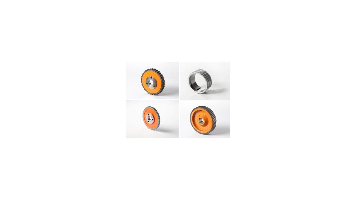Logo Weinig steel rollers