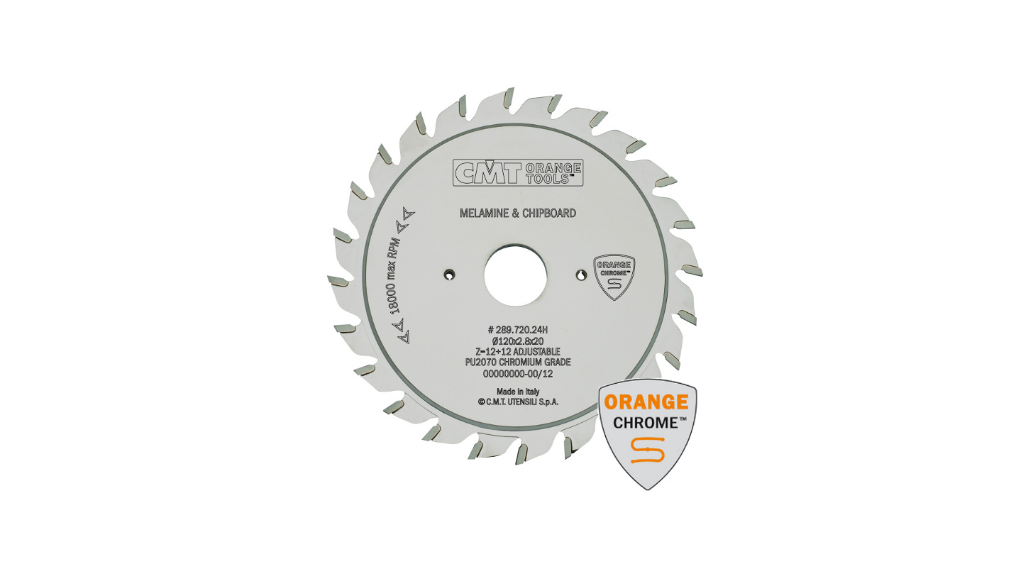 Logo Industrial chrome-coated adjustable scoring blades