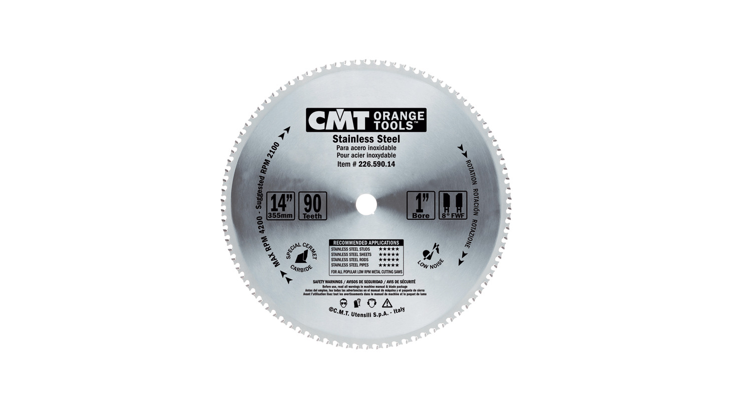 Logo Industrial saw blades for stainless steel