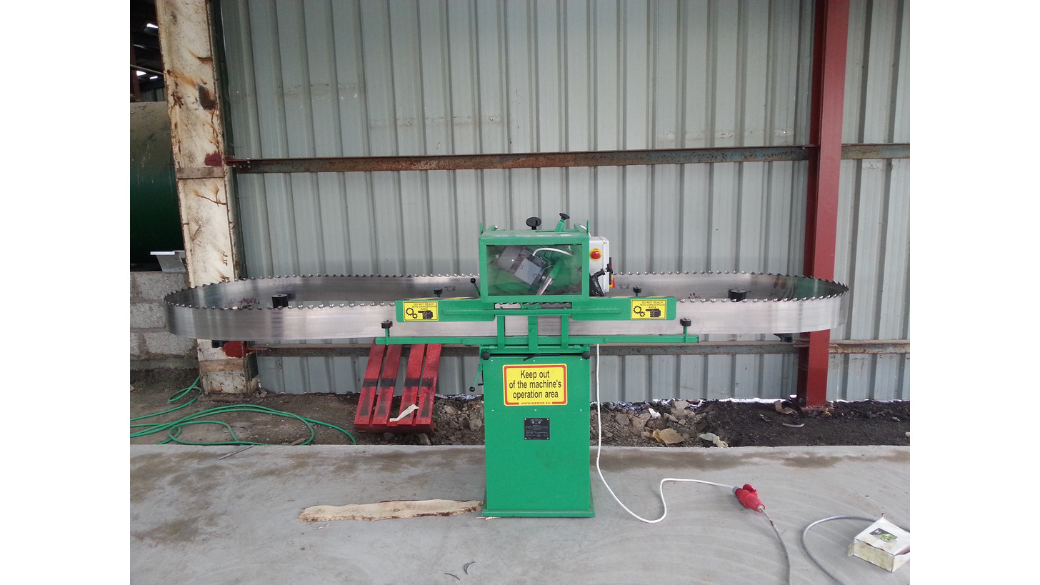 Logo Grinding machine for band saws MEBOR BA