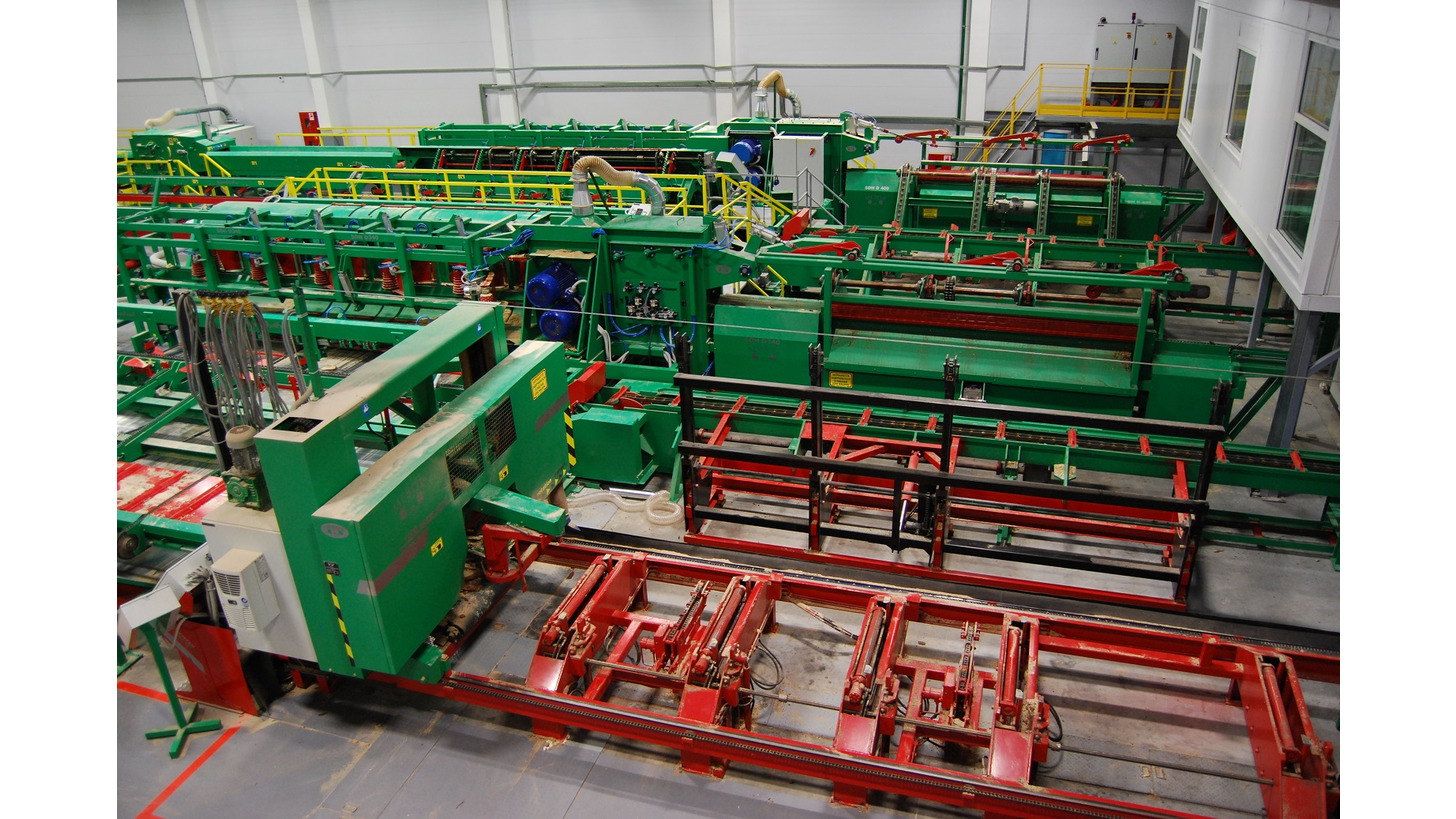 Logo Sawing lines and conveyors MEBOR