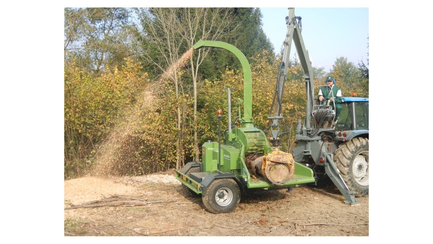 Logo PTH 400 Drum chipper