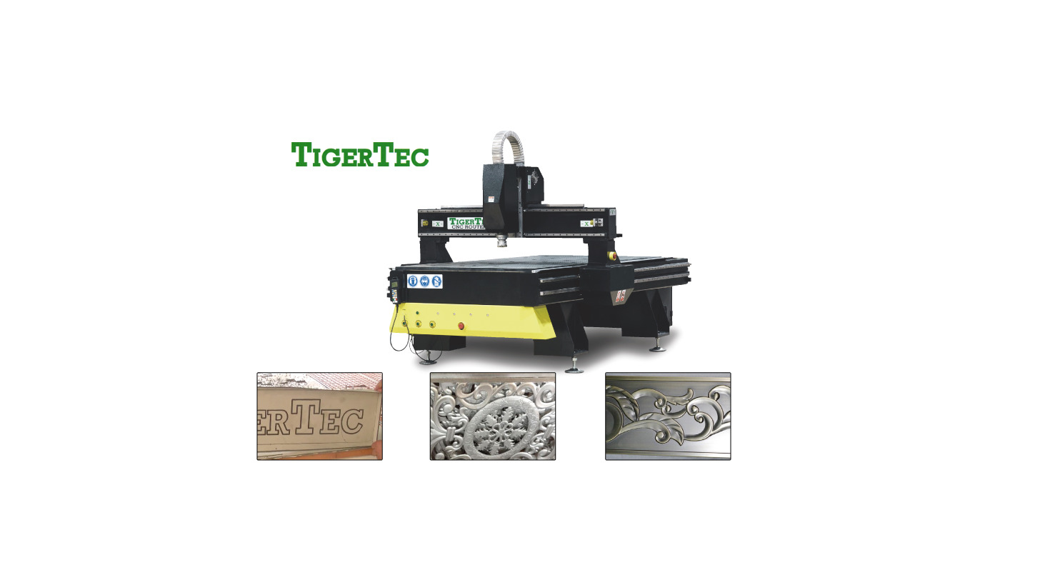 Logo CNC ROUTER TR408 with floating head