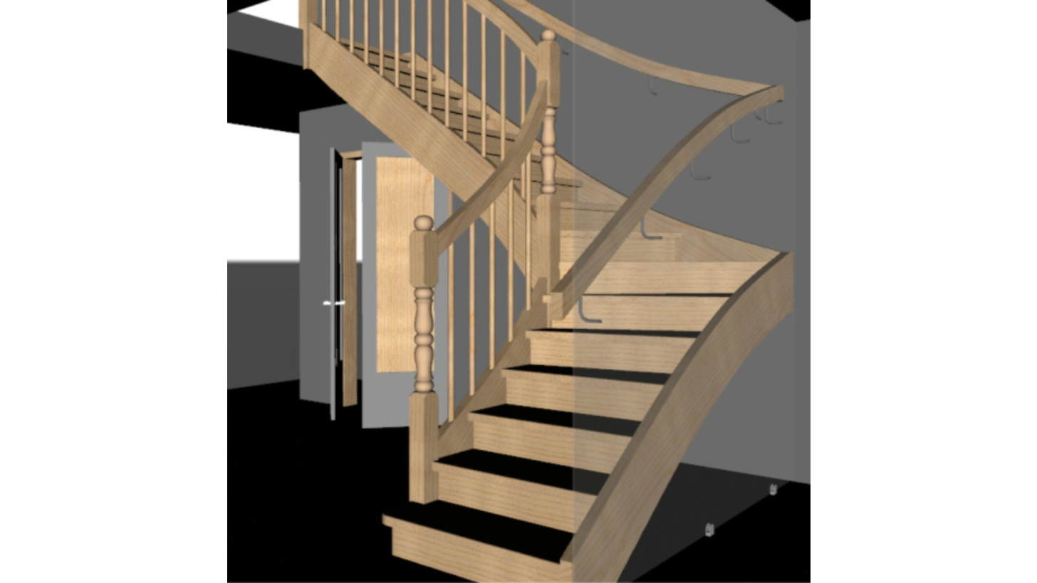 Logo Staircase Manufacturing Software