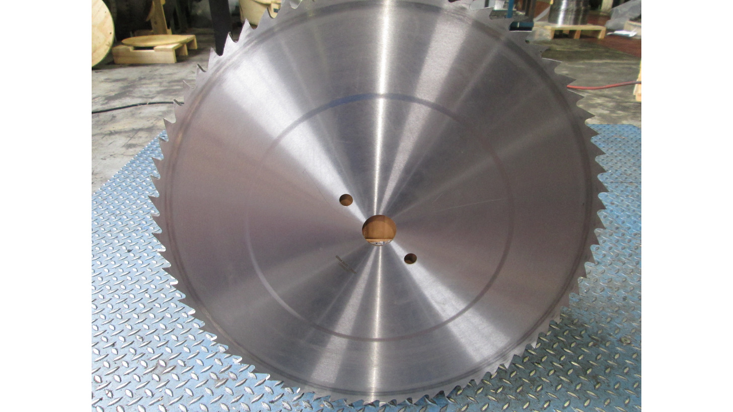 Logo Steel circular saw blade