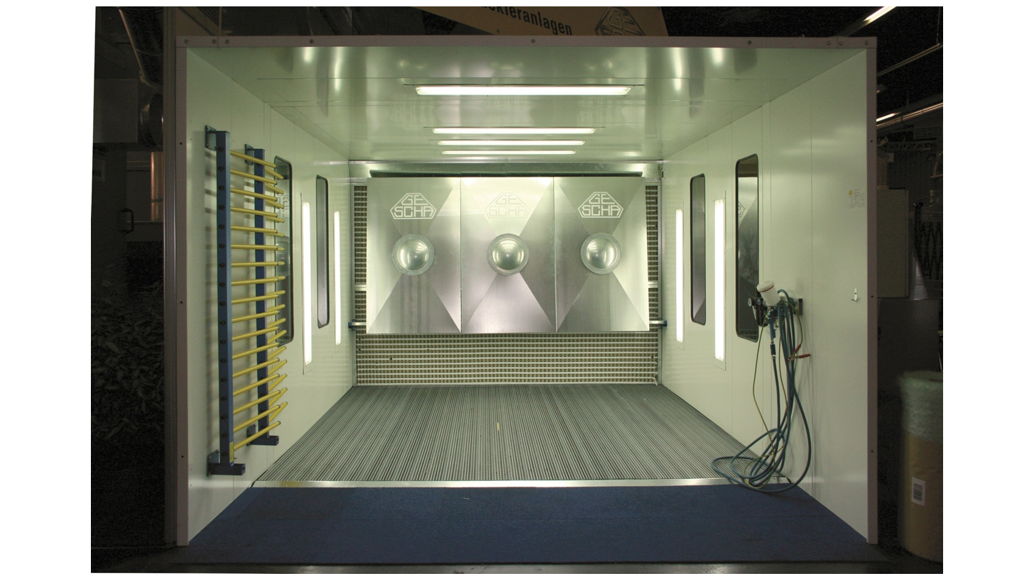 Logo Paint Booths - Spray Booths -Painting