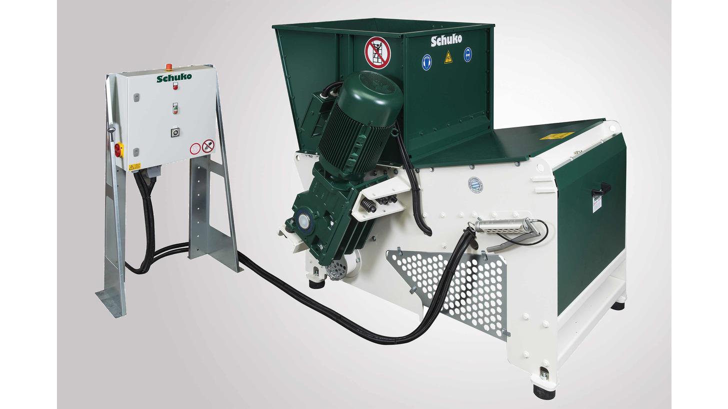 Logo New shredder for general industrial use