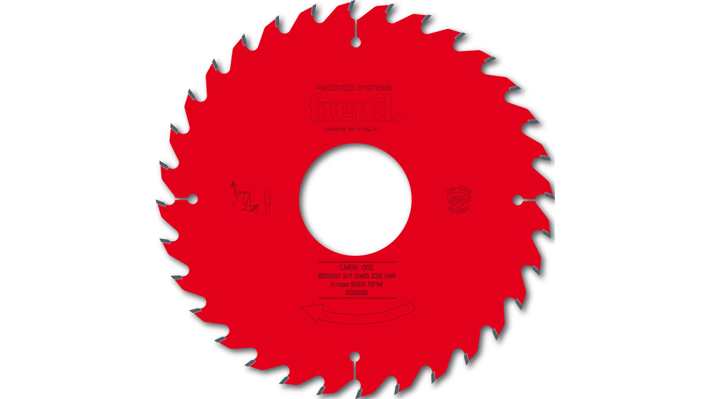 Logo LM09 - thin kerf ripping saw blade