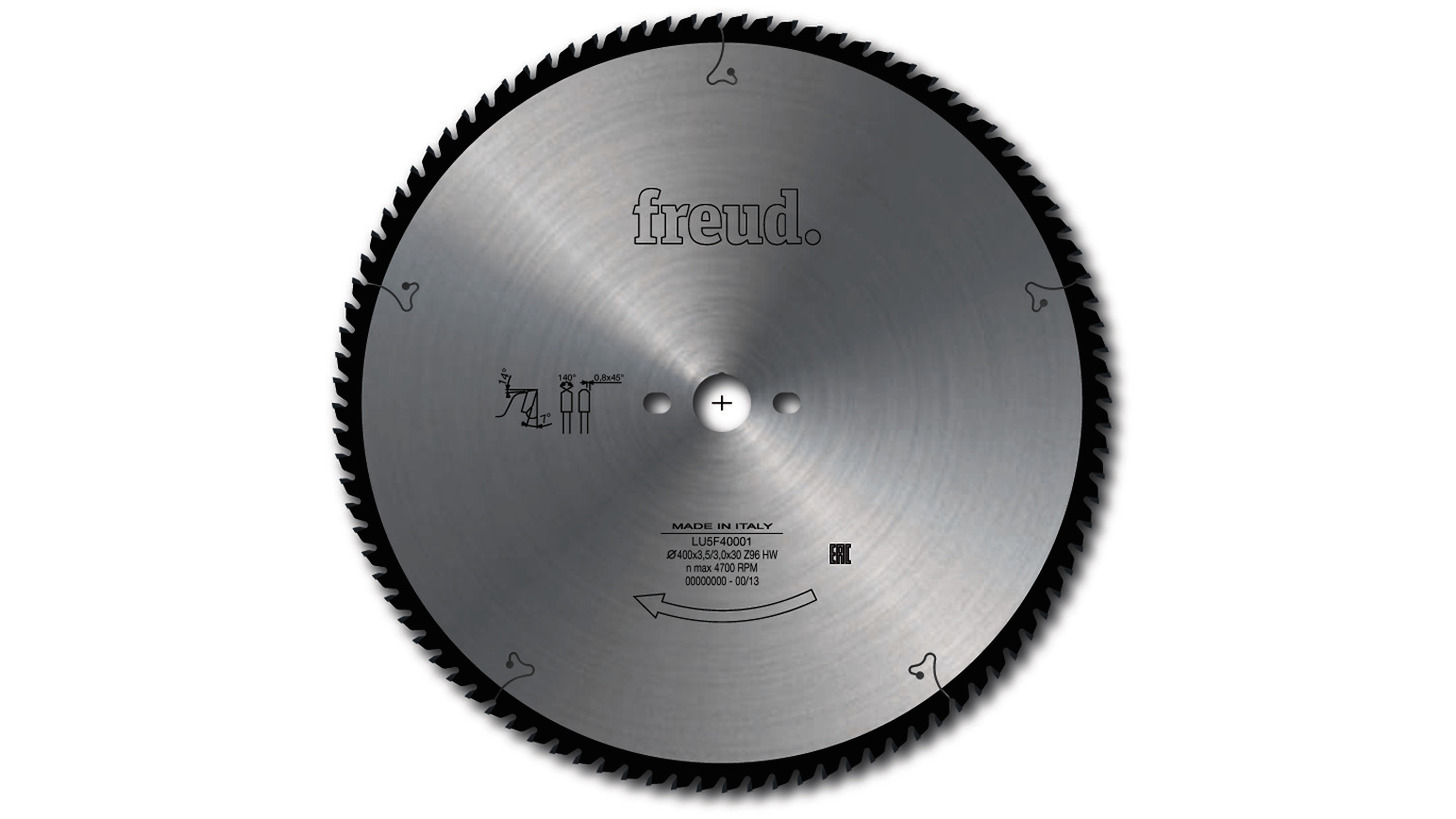 Logo LU5F - Saw blade for cutting aluminum