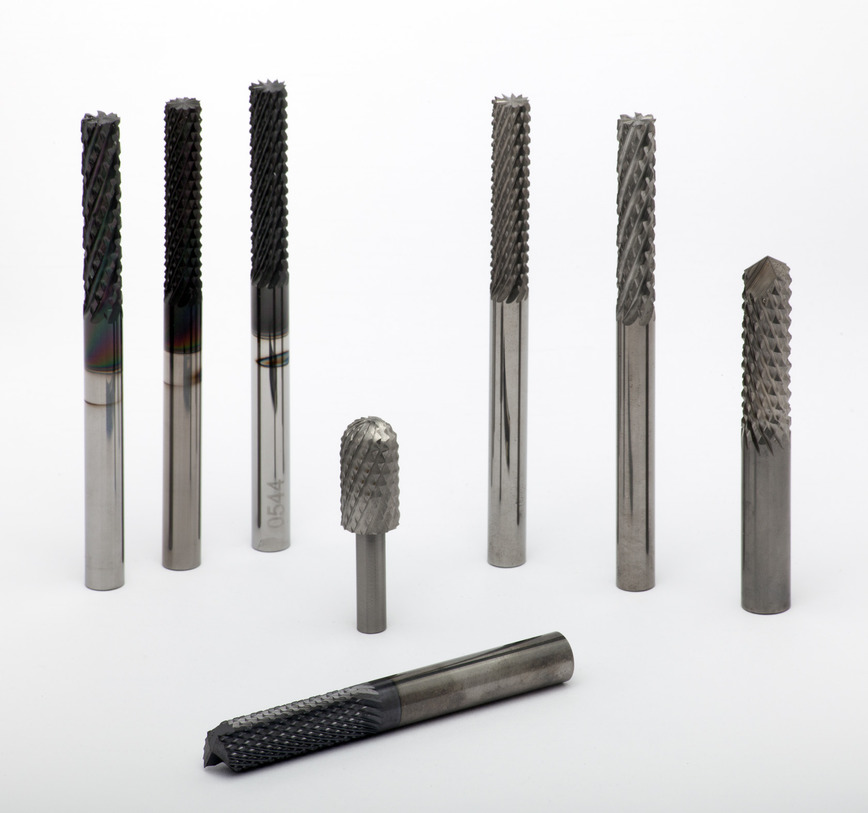 Logo HW milling cutters for fiber glass and carbon fibre