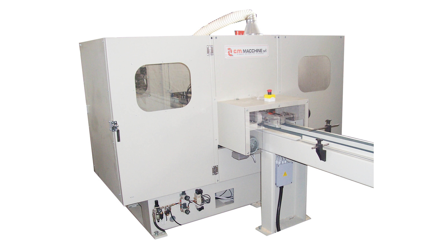 Logo AUTOMATIC DOUBLE TRANSVERSAL TENONING/MILLING MACHINE Mod. FT 300