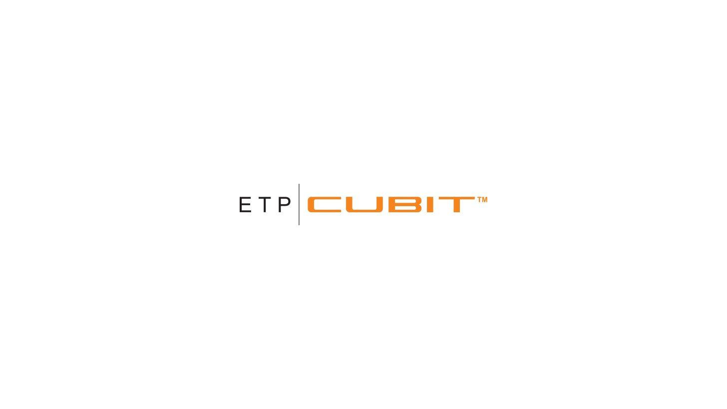 Logo ETP CUBIT - The ultimate way to profile precision