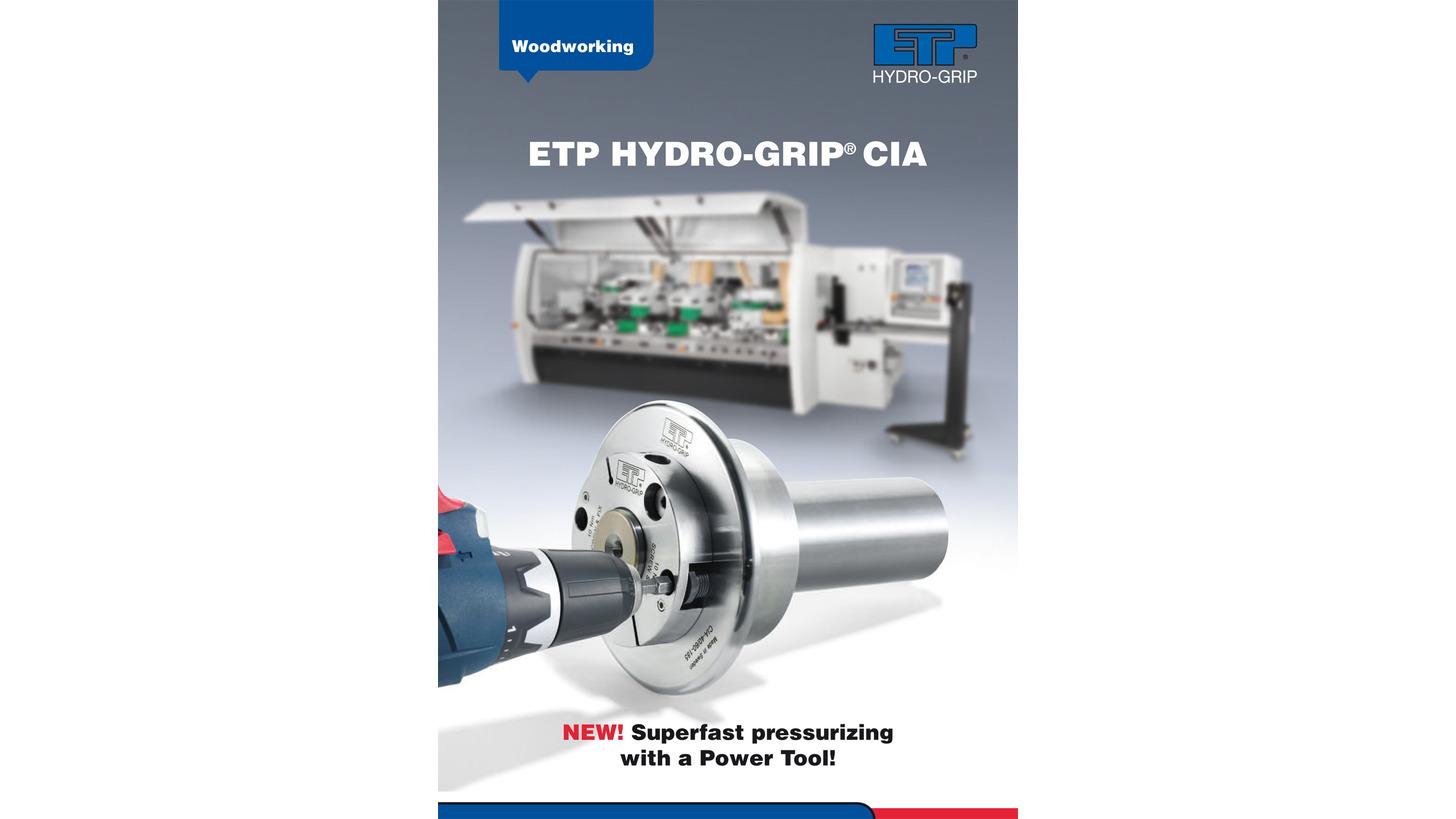 Logo ETP HYDRO-GRIP CIA