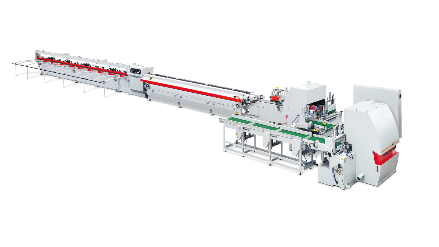 Logo FULLY ATUO FINGER JOINTING LINE