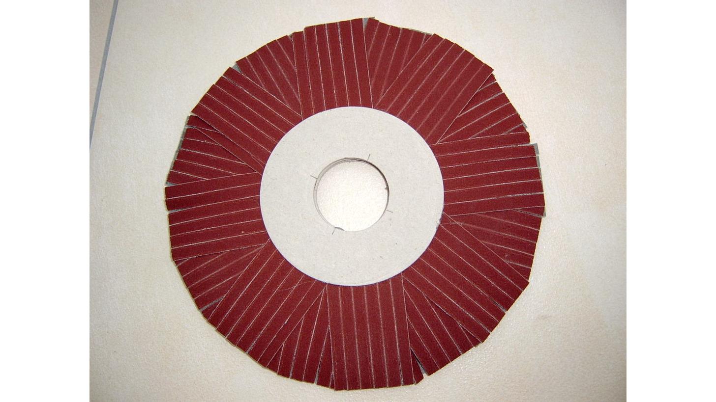 Logo Radial - sanding wheel