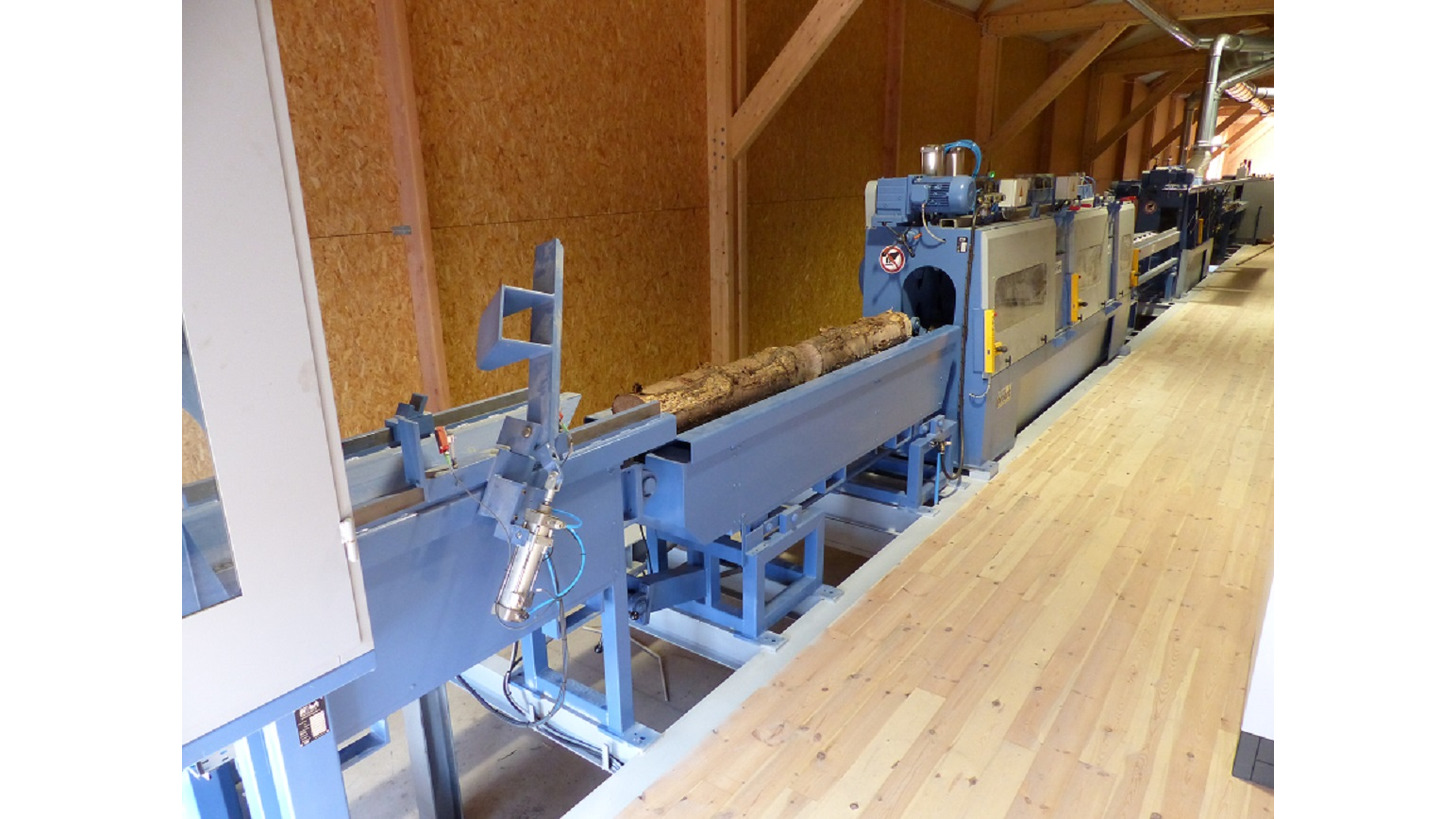 Logo Saw-milling lines for small timber