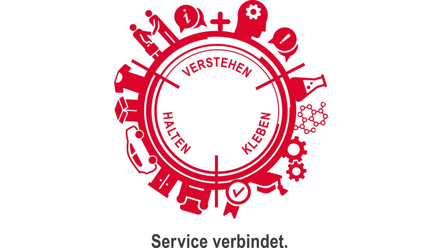 Logo Service verbindet