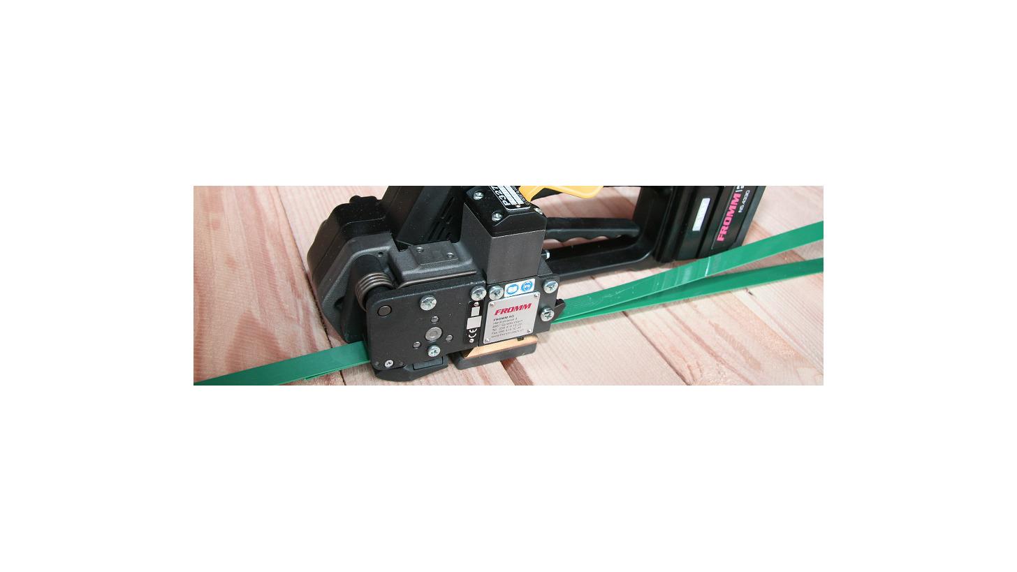 Logo Kunststoffband- und Stahlbandumreifungs- geräte und -maschinen