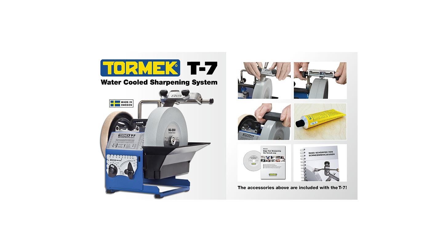 Logo Nass-schärfmaschine Tormek T-7